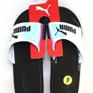 Puma Slides Iridescent Flip Flop Sandal Slip-on